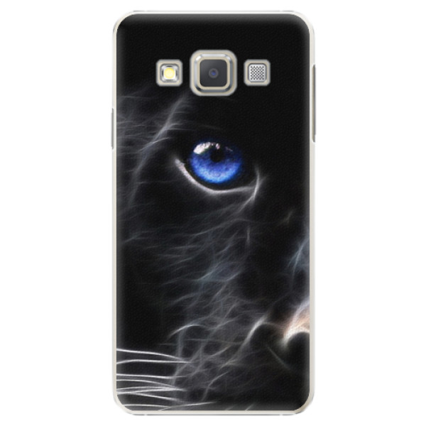 Plastové puzdro iSaprio - Black Puma - Samsung Galaxy A5