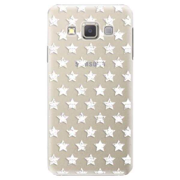 Plastové puzdro iSaprio - Stars Pattern - white - Samsung Galaxy A5