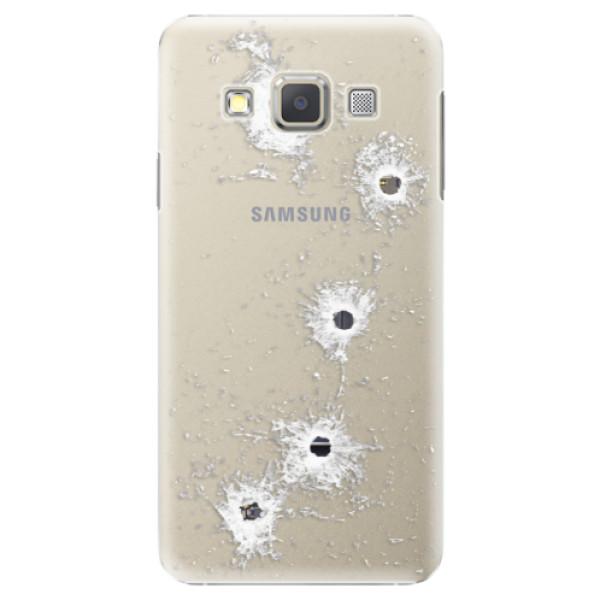 Plastové puzdro iSaprio - Gunshots - Samsung Galaxy A5
