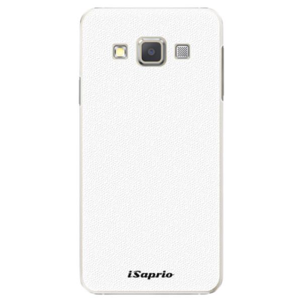 Plastové puzdro iSaprio - 4Pure - bílý - Samsung Galaxy A5