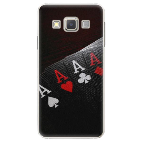 Plastové puzdro iSaprio - Poker - Samsung Galaxy A5