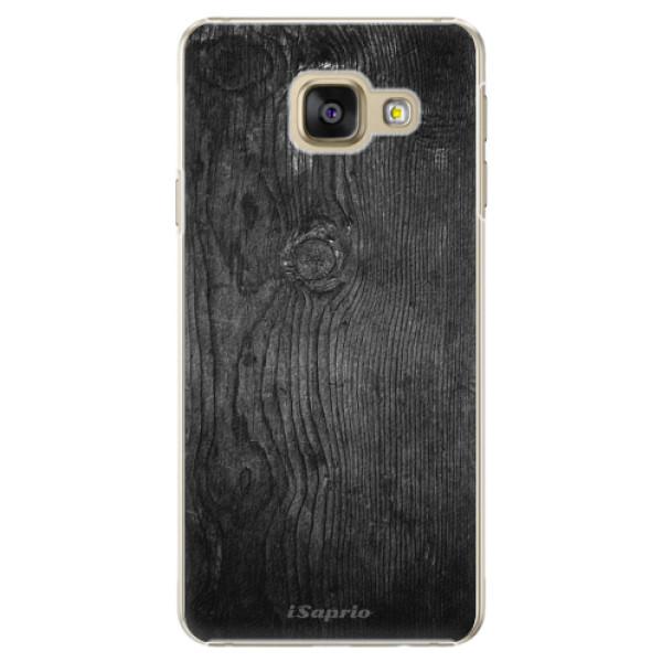 Plastové puzdro iSaprio - Black Wood 13 - Samsung Galaxy A5 2016