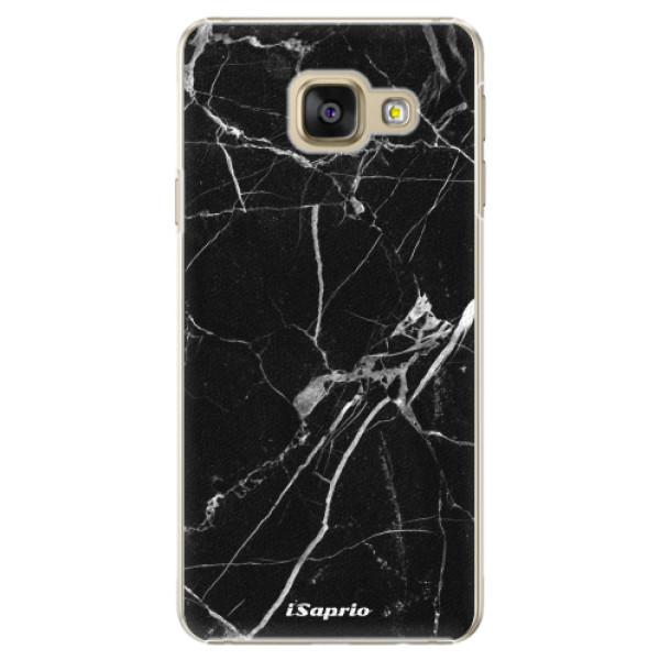 Plastové puzdro iSaprio - Black Marble 18 - Samsung Galaxy A5 2016