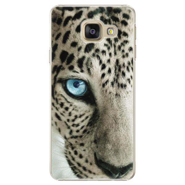 Plastové puzdro iSaprio - White Panther - Samsung Galaxy A5 2016