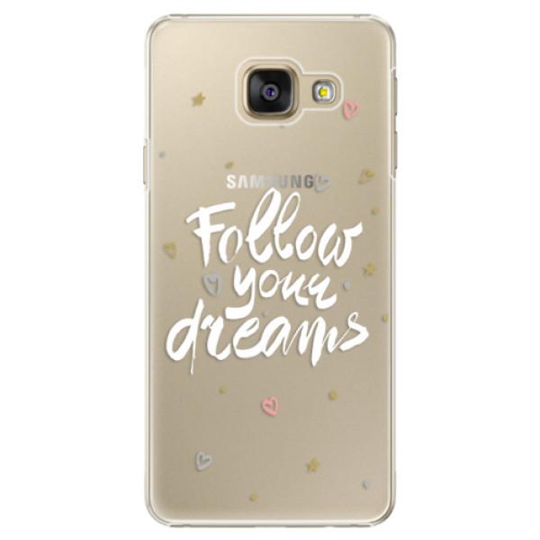 Plastové puzdro iSaprio - Follow Your Dreams - white - Samsung Galaxy A5 2016