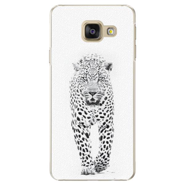 Plastové puzdro iSaprio - White Jaguar - Samsung Galaxy A5 2016