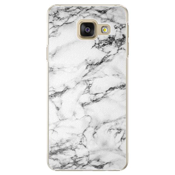 Plastové puzdro iSaprio - White Marble 01 - Samsung Galaxy A5 2016
