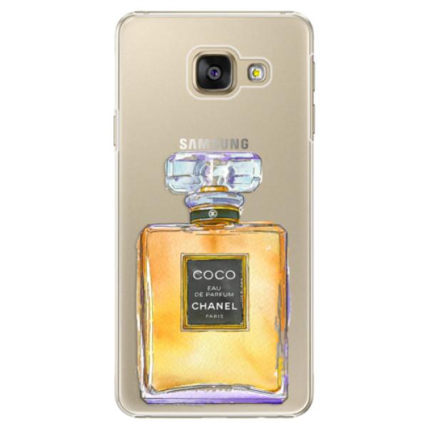 Plastové puzdro iSaprio - Chanel Gold - Samsung Galaxy A5 2016