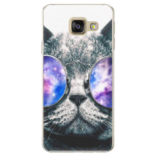 Plastové puzdro iSaprio - Galaxy Cat - Samsung Galaxy A5 2016