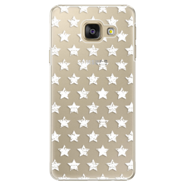 Plastové puzdro iSaprio - Stars Pattern - white - Samsung Galaxy A5 2016