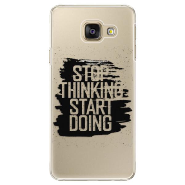 Plastové puzdro iSaprio - Start Doing - black - Samsung Galaxy A5 2016