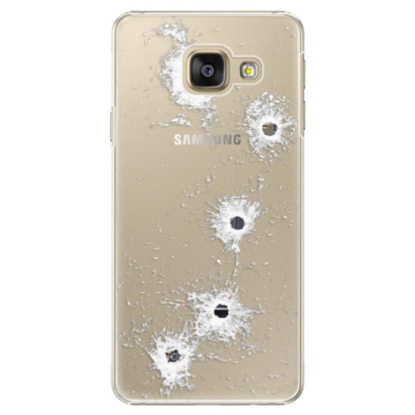 Plastové puzdro iSaprio - Gunshots - Samsung Galaxy A5 2016
