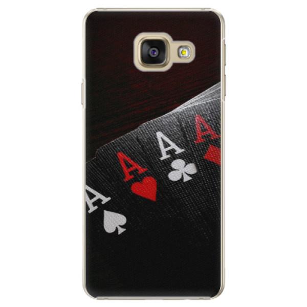 Plastové puzdro iSaprio - Poker - Samsung Galaxy A5 2016