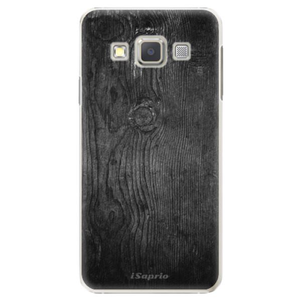 Plastové puzdro iSaprio - Black Wood 13 - Samsung Galaxy A7