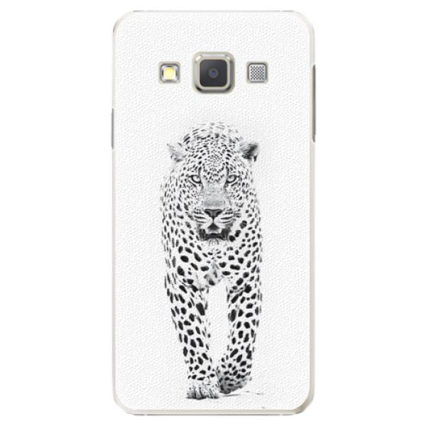Plastové puzdro iSaprio - White Jaguar - Samsung Galaxy A7