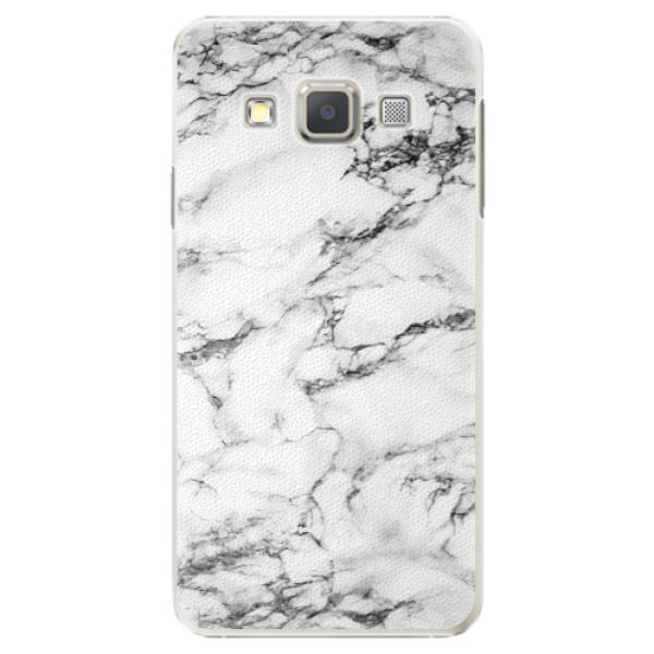 Plastové puzdro iSaprio - White Marble 01 - Samsung Galaxy A7