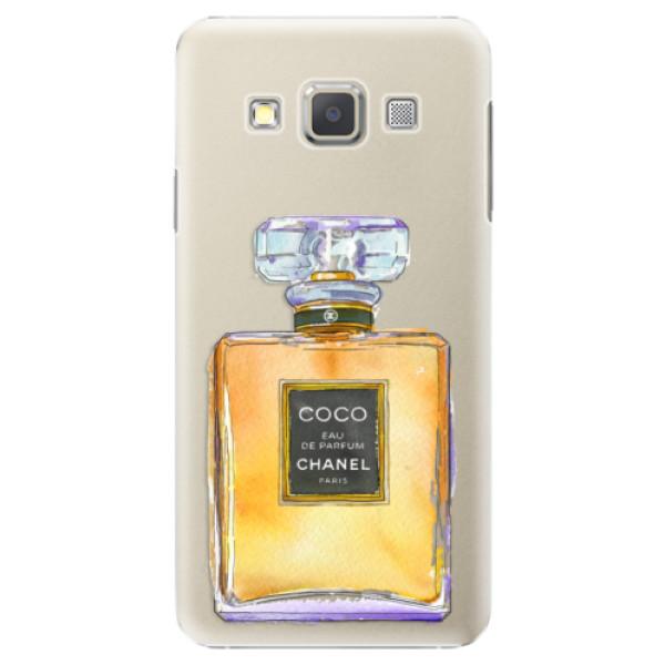 Plastové puzdro iSaprio - Chanel Gold - Samsung Galaxy A7