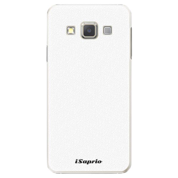 Plastové puzdro iSaprio - 4Pure - bílý - Samsung Galaxy A7