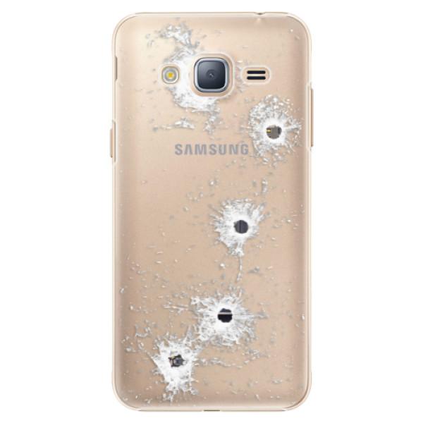 Plastové puzdro iSaprio - Gunshots - Samsung Galaxy J3 2016