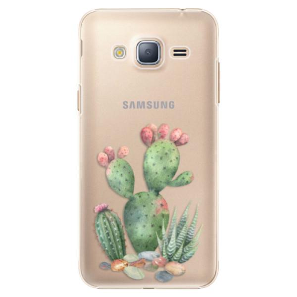 Plastové puzdro iSaprio - Cacti 01 - Samsung Galaxy J3 2016
