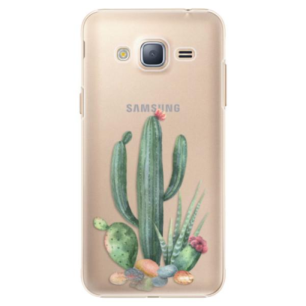 Plastové puzdro iSaprio - Cacti 02 - Samsung Galaxy J3 2016