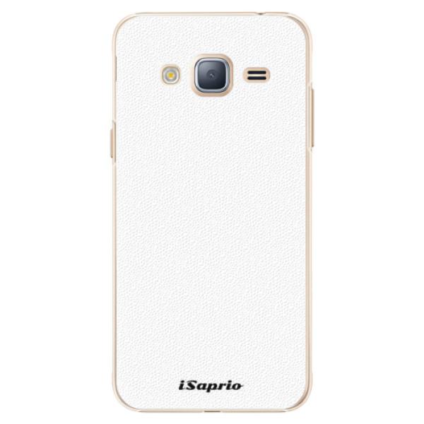 Plastové puzdro iSaprio - 4Pure - bílý - Samsung Galaxy J3 2016