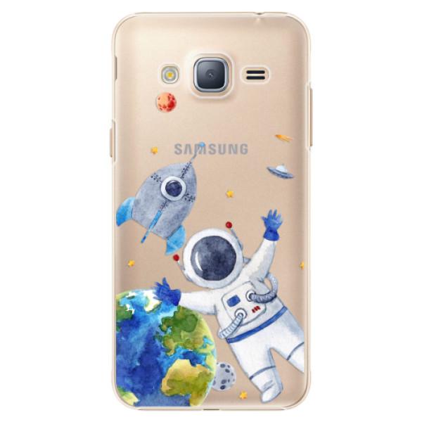 Plastové puzdro iSaprio - Space 05 - Samsung Galaxy J3 2016