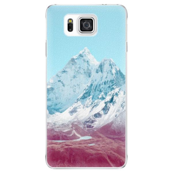 Plastové puzdro iSaprio - Highest Mountains 01 - Samsung Galaxy Alpha