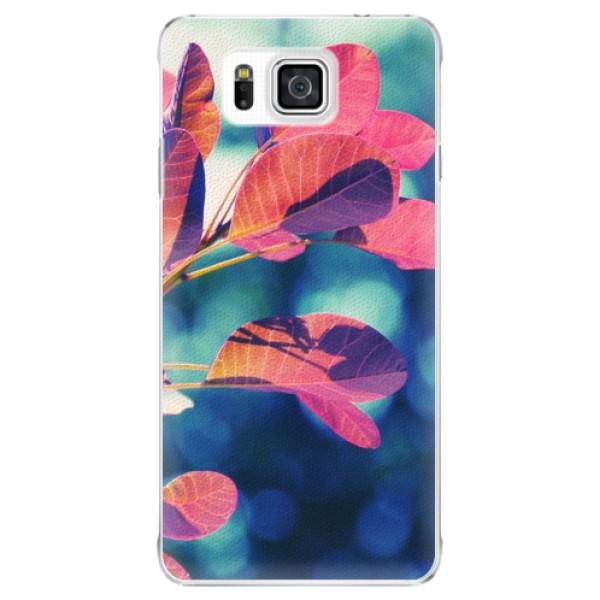Plastové puzdro iSaprio - Autumn 01 - Samsung Galaxy Alpha