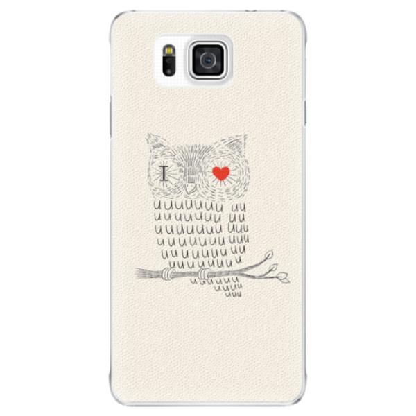 Plastové puzdro iSaprio - I Love You 01 - Samsung Galaxy Alpha