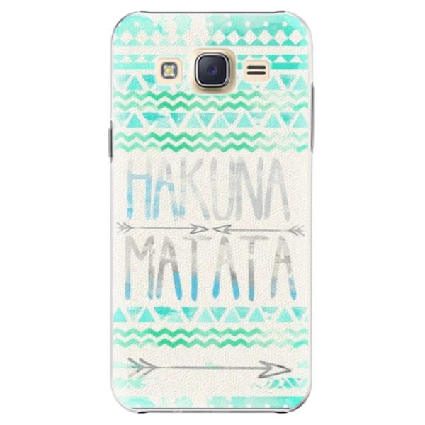 Plastové puzdro iSaprio - Hakuna Matata Green - Samsung Galaxy Core Prime