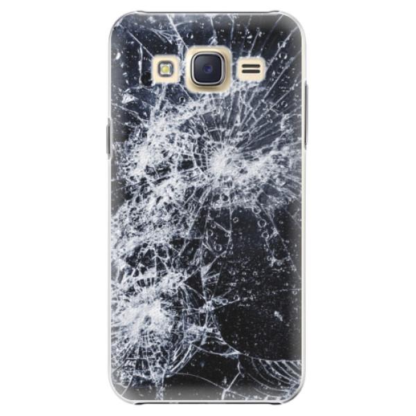 Plastové puzdro iSaprio - Cracked - Samsung Galaxy Core Prime