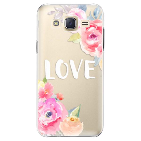 Plastové puzdro iSaprio - Love - Samsung Galaxy Core Prime
