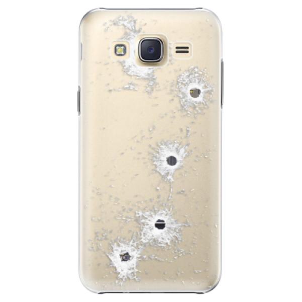 Plastové puzdro iSaprio - Gunshots - Samsung Galaxy Core Prime