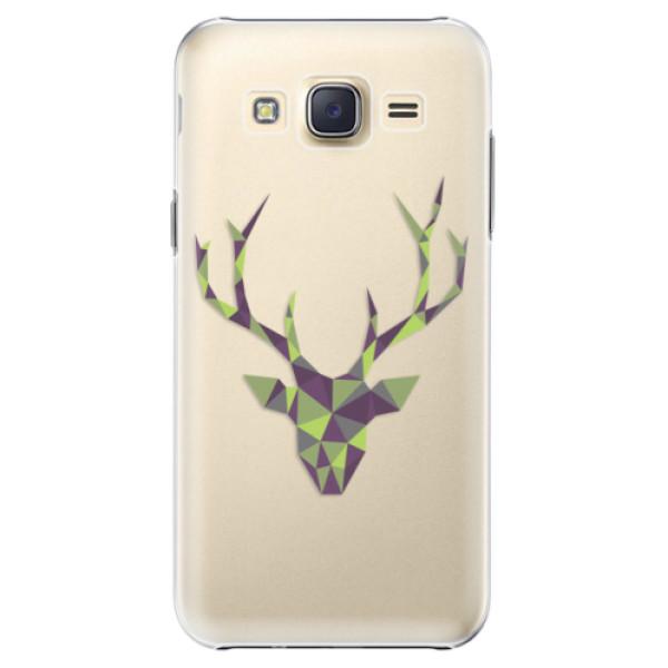 Plastové puzdro iSaprio - Deer Green - Samsung Galaxy Core Prime