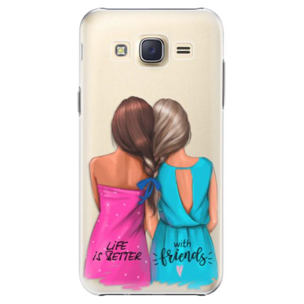 Plastové puzdro iSaprio - Best Friends - Samsung Galaxy Core Prime