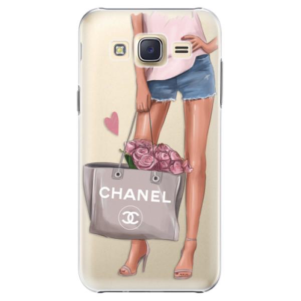 Plastové puzdro iSaprio - Fashion Bag - Samsung Galaxy Core Prime
