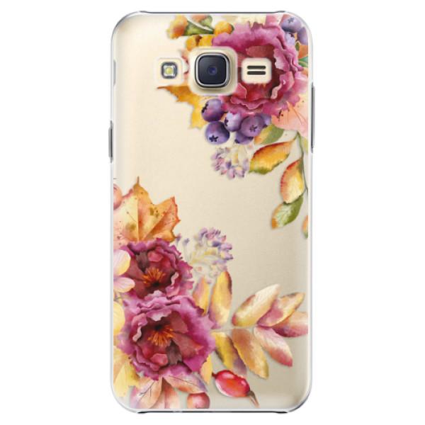 Plastové puzdro iSaprio - Fall Flowers - Samsung Galaxy Core Prime