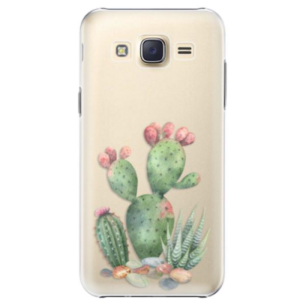 Plastové puzdro iSaprio - Cacti 01 - Samsung Galaxy Core Prime