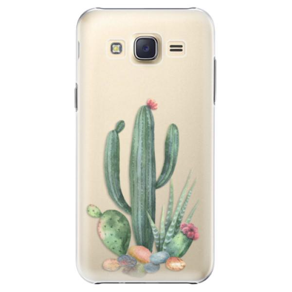 Plastové puzdro iSaprio - Cacti 02 - Samsung Galaxy Core Prime