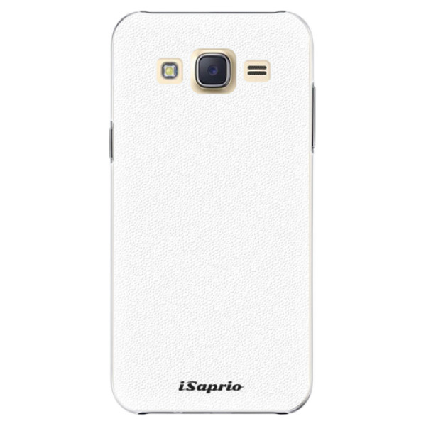 Plastové puzdro iSaprio - 4Pure - bílý - Samsung Galaxy Core Prime