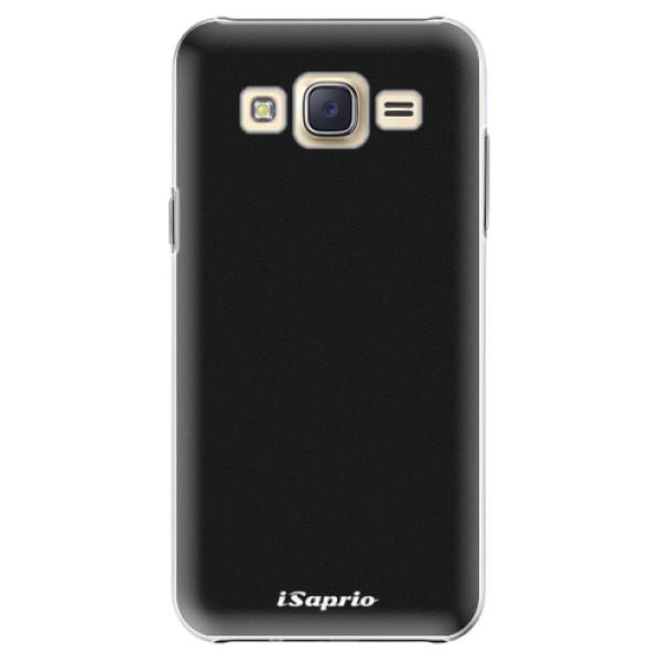Plastové puzdro iSaprio - 4Pure - černý - Samsung Galaxy Core Prime