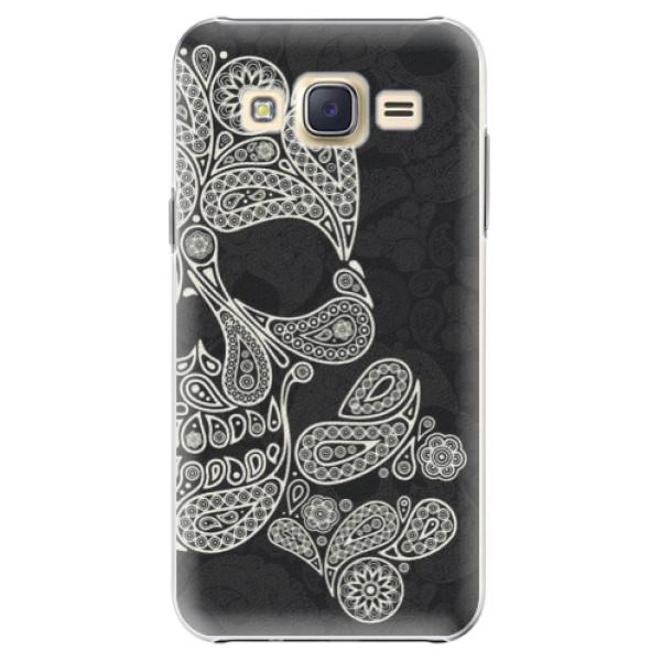 Plastové puzdro iSaprio - Mayan Skull - Samsung Galaxy Core Prime