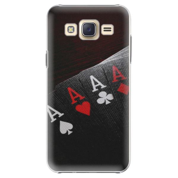 Plastové puzdro iSaprio - Poker - Samsung Galaxy Core Prime