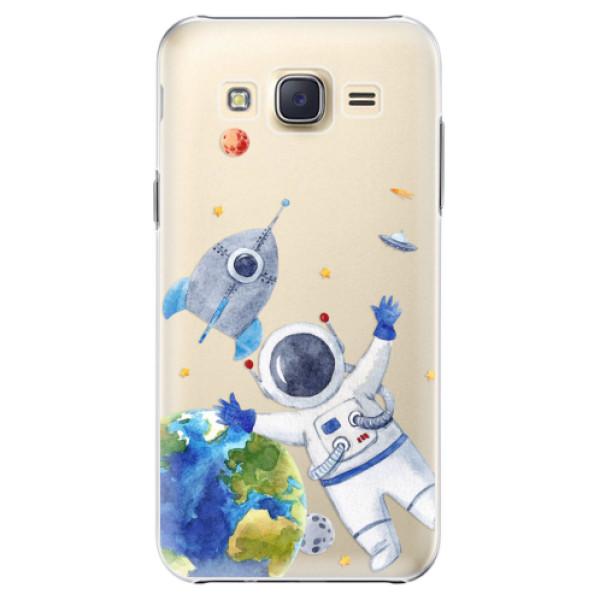 Plastové puzdro iSaprio - Space 05 - Samsung Galaxy Core Prime