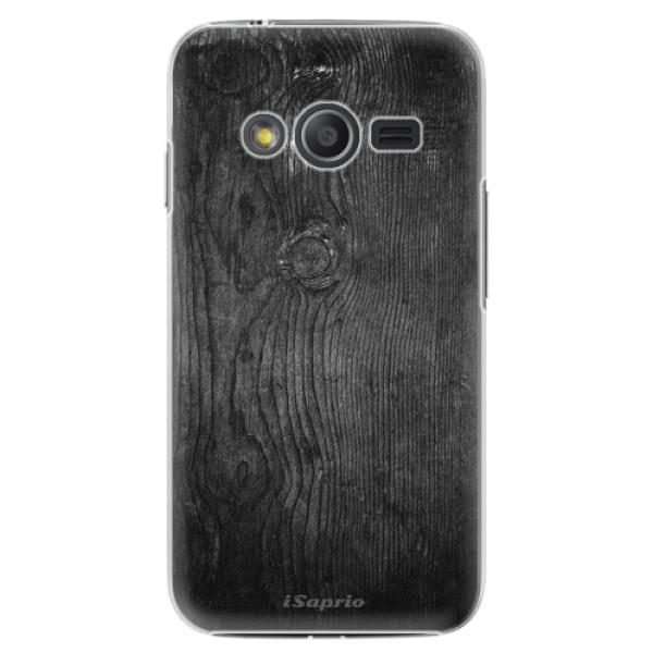 Plastové puzdro iSaprio - Black Wood 13 - Samsung Galaxy Trend 2 Lite