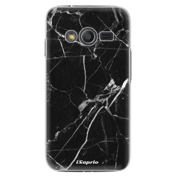 Plastové puzdro iSaprio - Black Marble 18 - Samsung Galaxy Trend 2 Lite