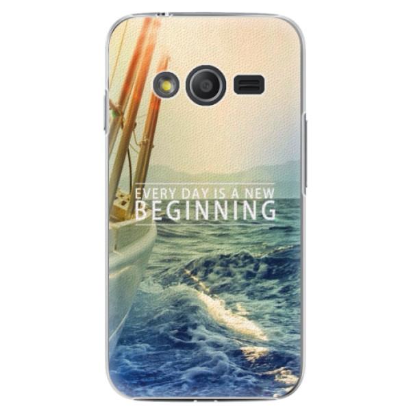 Plastové puzdro iSaprio - Beginning - Samsung Galaxy Trend 2 Lite