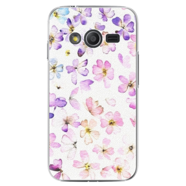 Plastové puzdro iSaprio - Wildflowers - Samsung Galaxy Trend 2 Lite