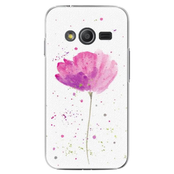 Plastové puzdro iSaprio - Poppies - Samsung Galaxy Trend 2 Lite